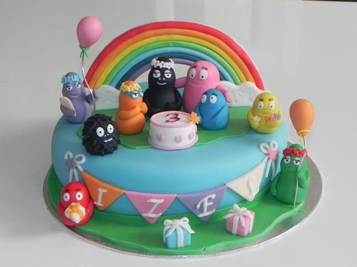 cake barbapapa