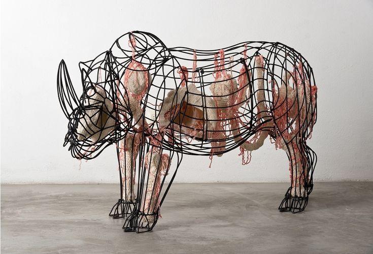 Miriam Medrez | Escultura | Portafolio -> Mamalia 2012 * 2013
