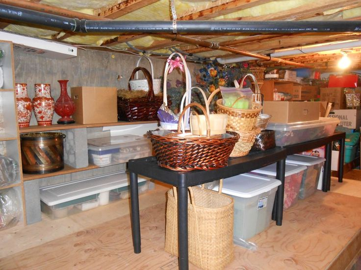 Crawl space storage google search cleaning organizing for House crawl themes