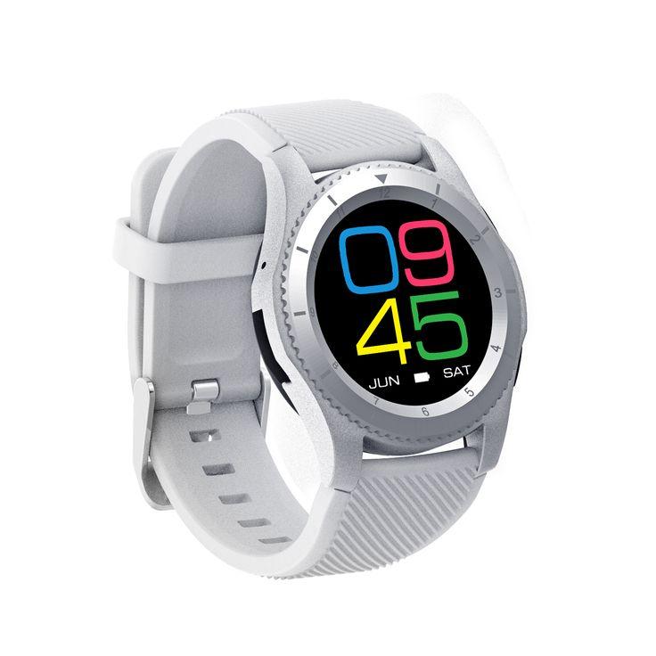 NO.1G8MT2502PressionesanguignaCuore Monitor di frequenza Chiamata CartaSIM Smartwatch per Android IOS