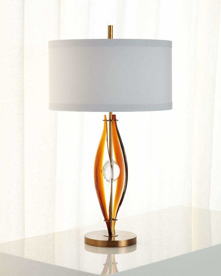 luxurious lighting. johnrichard collection art glass table lamp luxurious lighting