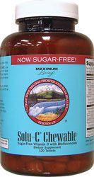 Solu-C Chewable Vitamin C with Bioflavonoids, Sugar Free