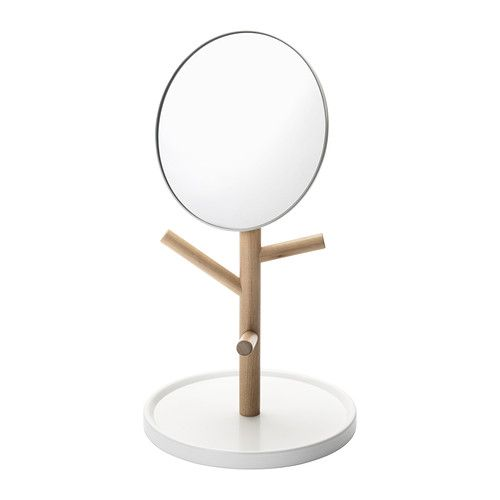 IKEA PS 2014 Table mirror IKEA You can use the base and knobs to organize your jewelry and accessories.