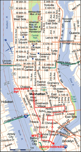 Best New York City The Arts Images On Pinterest New York - Manhattan in us map
