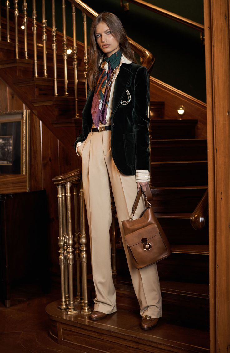 Ralph Lauren Pre-Fall 2017 Fashion Show Collection