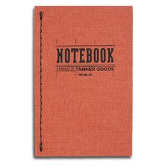 Notebook from Tanner Goods: Common Knot, Animal Track