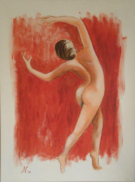 Danseres Acryl 60x80 cm
