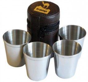 Набор 4 стаканаTramp в чехле – фото