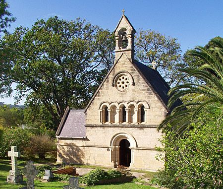 The quaint and beautiful Belvidere Church in  Knysna, Western Cape