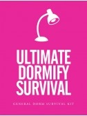 Ultimate Dorm Survival Kit  & A lot of things needed for college dorm life