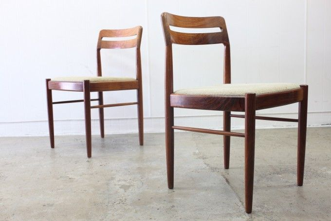 Rosewood Dining Chairs by Bramin x8 Sold