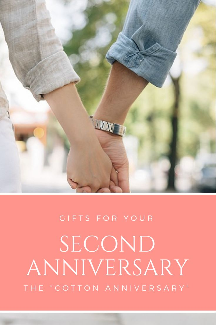 Great gift ideas for your 2nd anniversary - Cotton