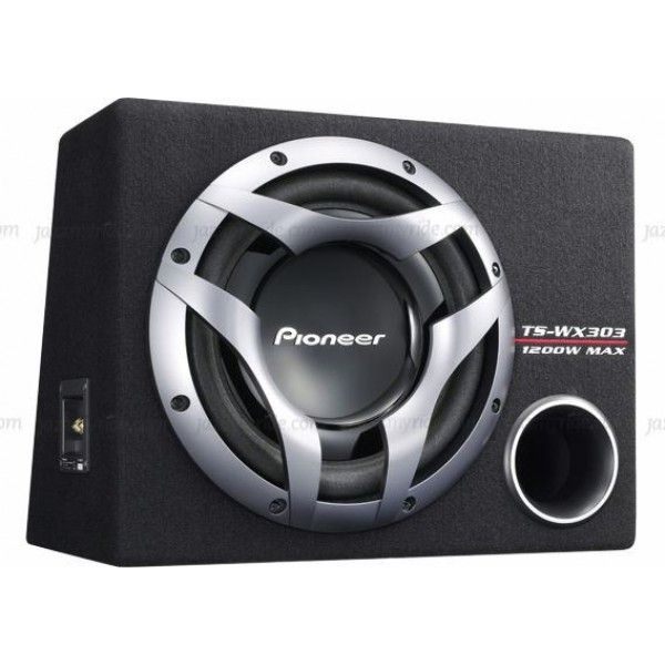 #Pioneer - TS WX303 #Jazzmyride Pioneer - TS WX303 30 CM 12'' Bass-Reflex Subwoofer  is not just thicker; it is also wound six layers deep. This improves force power and maximum input power, Extended Excursion Design.