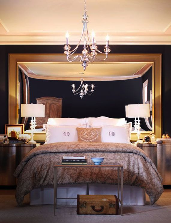 Bedroom Frame With Mirror Bed Headboard With Images Bedroom