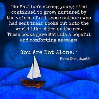 "Matilda, ""Do not sneer at education people."""