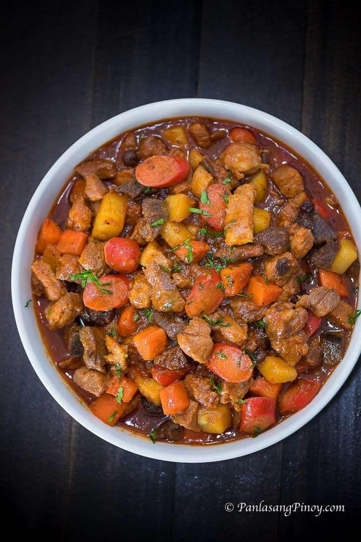How to make chicken menudo filipino recipe