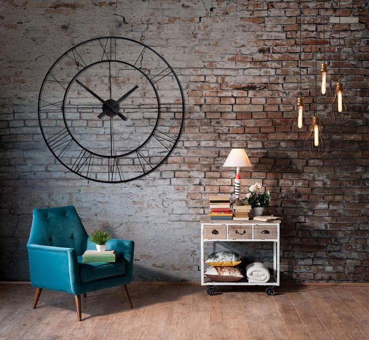 Dizajnové nástenné hodiny okrúhle