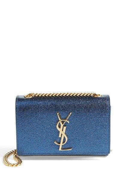 Shop now: Mini Cassandre Crossbody Bag