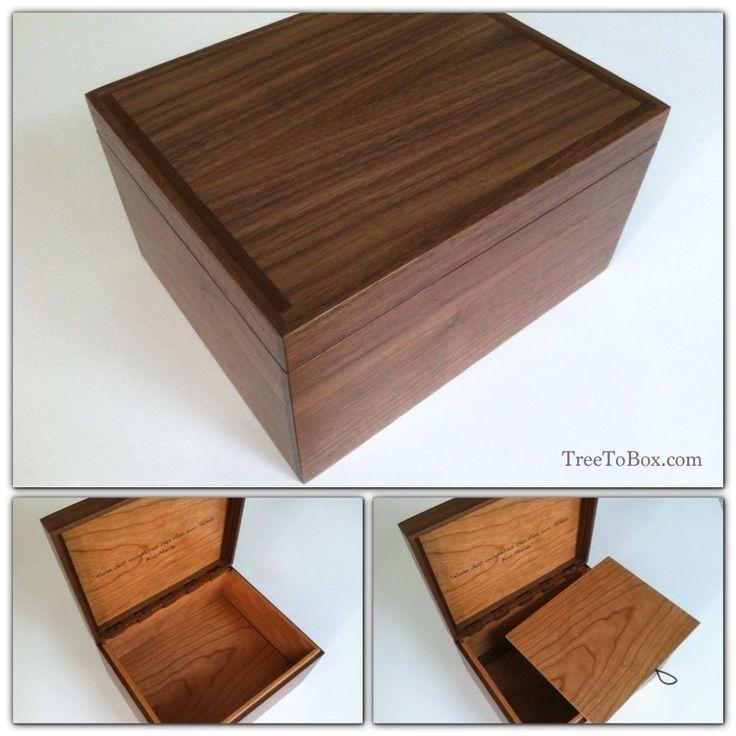 Custom Made Custom Wooden Boxes