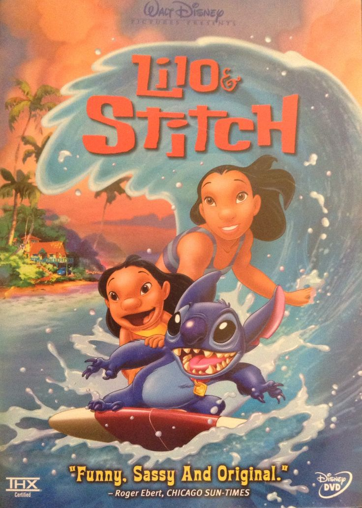 Lilo stitch dvd my favorite movies of all time pinterest