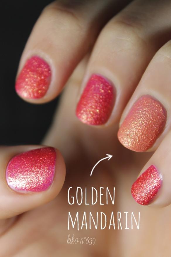 Kiko Sugar Mat nail polish