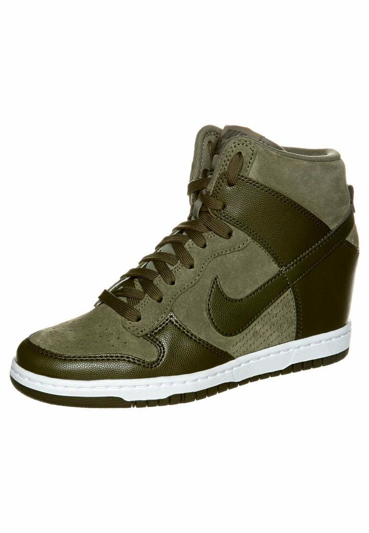 #Bottines compensées Nike Sportswear sur #Zalando // #kaki