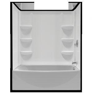 Standard Bathtub Insert Size