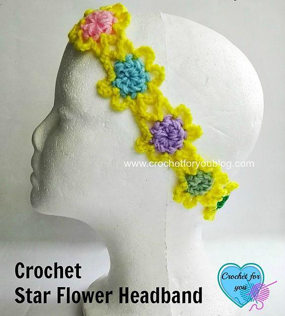 128 besten Free Headband Crochet Patterns Bilder auf Pinterest ...