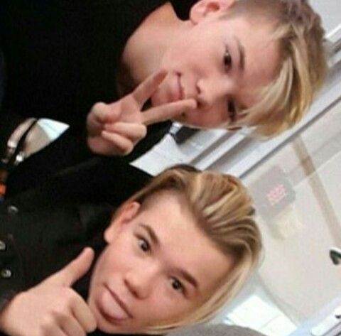 Person:hey are you Marcus and martinus M&M(me and marcus):no we are martinus and marcus