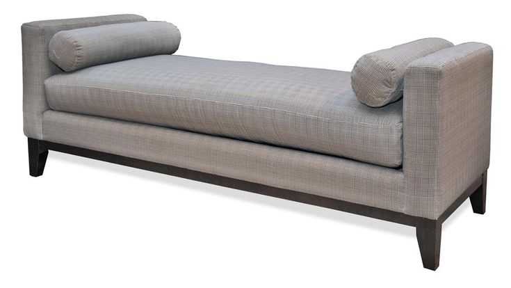 Steven and chris avenue backless sofa by decor rest for Chaise daybed sofa
