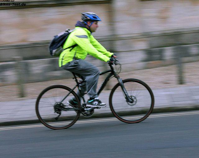 Schutz für Fahrradfahrer