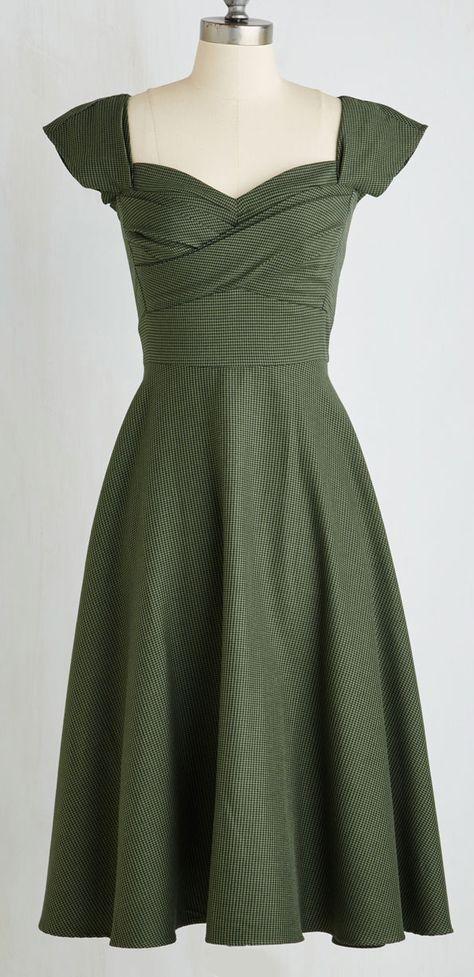 1940 style dance dresses