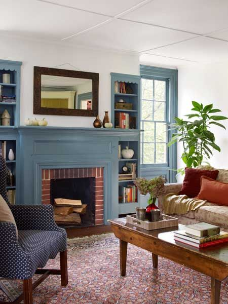 Polar vortex coming back this week? Maybe it's time to load up the fireplace again. | Photo: Tria Giovan | thisoldhouse.com