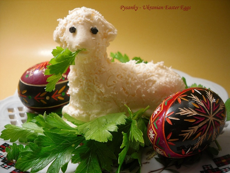 Traditional Polish Butter Lamb.. this one is really pretty I bought one last yr it was not this nice