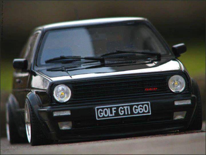 Double take - its a scale model VW Mk2 G60