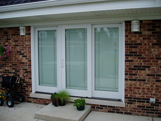 Best Patio Door Inspiration Images On Pinterest French Doors - Triple patio door
