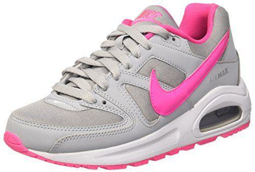 Nike Air Max Command Flex (GS)- Chaussures de running Femme, Gris (Wolf Grey / Pink Blast-White), 38 EU: – Chaussures Enfant Nike – Modèle…