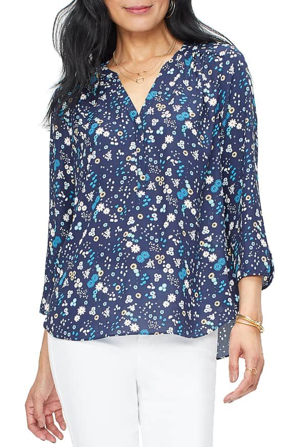 57be6da379104b Curves 360 by NYDJ Perfect Blouse (Regular, Petite & Plus Size) | Nordstrom