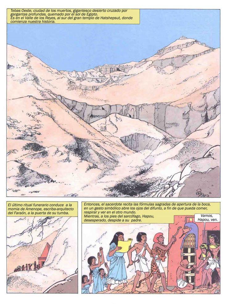Profesor de Historia, Geografía y Arte: Egipto antiguo en cómic
