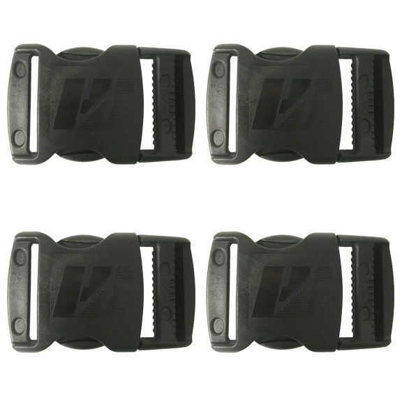 Humes and Berg Official Plastic 1.5 inch Plastic Buckle Set of 4 #HumesandBerg