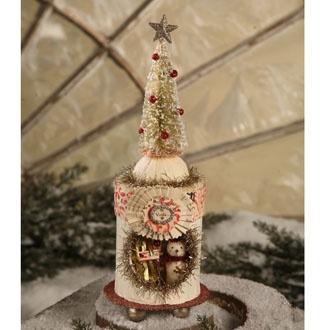 Snow Tree Peep Box for Christmas: Low Christmas, Snow Trees, Snowtr Peeps, Bb Treespt2, Christmas Boxes, Peeps Boxes, Bb Trees Pt 2, Trees Peeps, Holidays Christmas