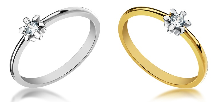 Two versions the same gold ring