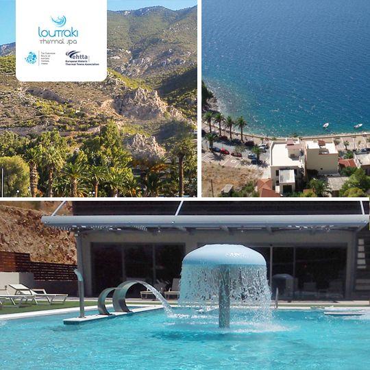 Sea + Mountains = our ideal summer destination.  #visitloutraki #summeringreece