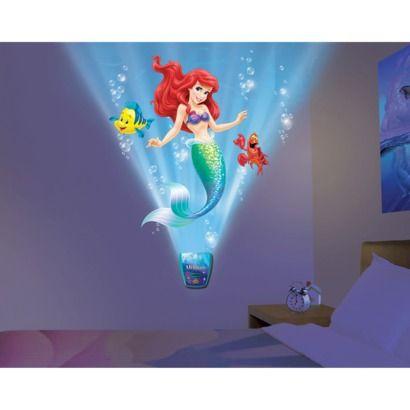 Wild Walls Little Mermaid Journey Animated Wall Art