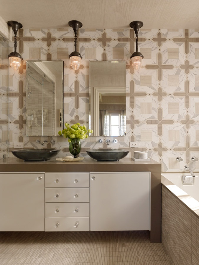 Elle Decor Showhouse By Jeffers Design Group   Wall Tile