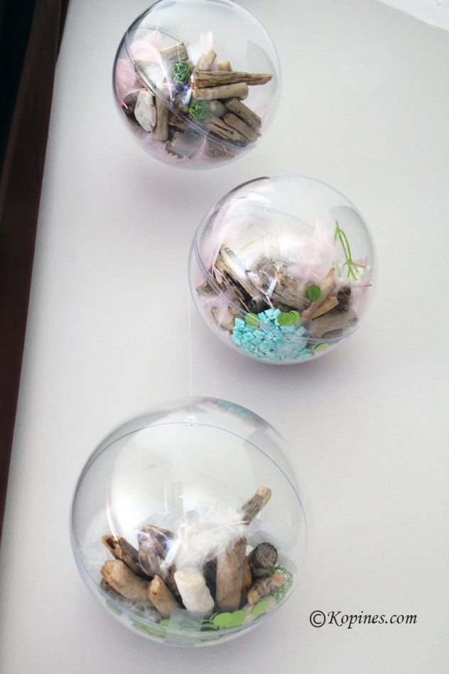 tuto DIY : décoration de boule transparente #deco #decoration #DIY #decochambrefille