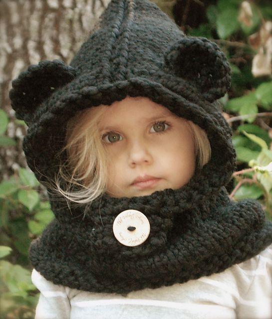 Ravelry: The Burton Bear Cowl pattern by Heidi May