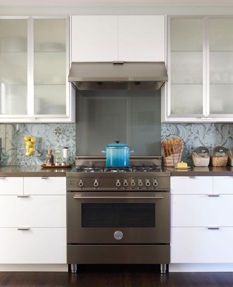 White Kitchen With Dark Backsplash: 10 Best Images About The Brian Boitano Project On