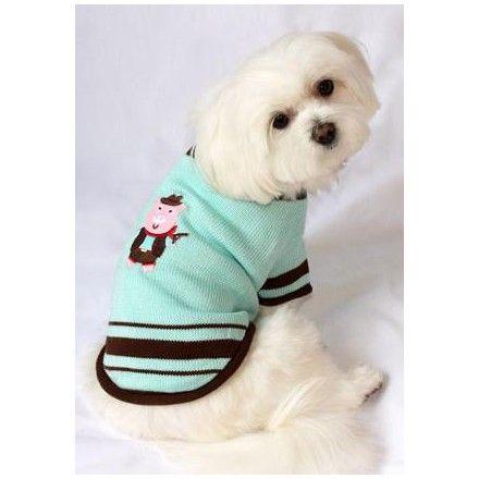 """Jersey para Perros """"Lovely Boy"""" - KUKA´S WORLD - Ropa y Accesorios exclusivos para Perros. Moda Canina de Diseño y Artículos para Mascotas con estilo. Designer Dog Clothes and Luxury Accessories for Pets! http://www.kukasworld.com/"""