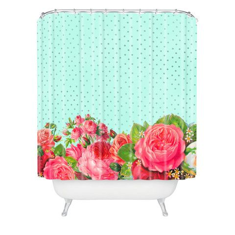 Allyson Johnson Favorite Floral Shower Curtain